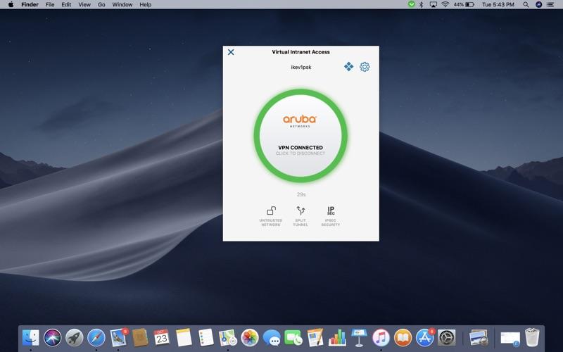 Aruba VIA Screenshot