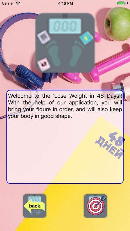 Lose weight in 48 days