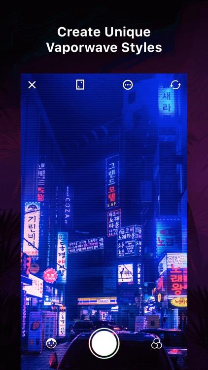 VaporCam-Retro Filter Camera screenshot-0