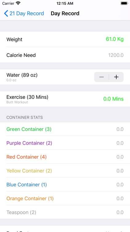 21 Day Fit Container Tracker screenshot-4