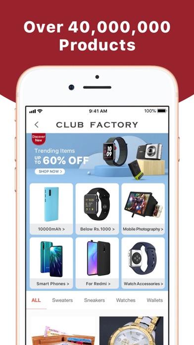 Club Factory - Unbeaten Price screenshot three
