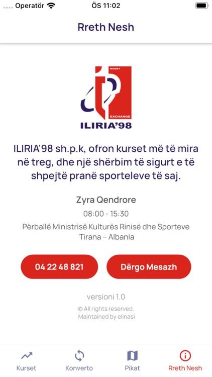 Iliria'98 Money Exchange screenshot-3