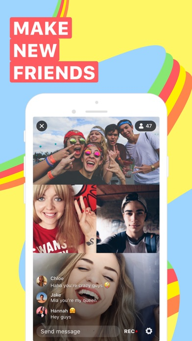 Yubo - Make new friends Screenshot