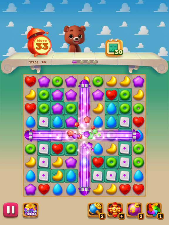 Toy Bear Sweet POP screenshot #5