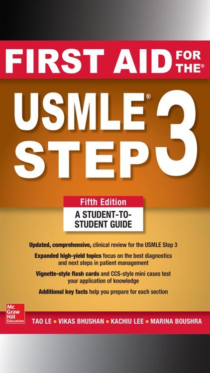 First Aid for USMLE Step 3 5/E