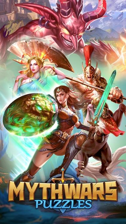 MythWars & Puzzles:RPG Match 3 screenshot-0