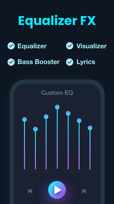 Equalizer Fx: Bass Booster App Screenshot