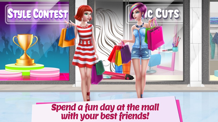 Shopping Mall Girl