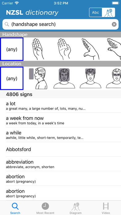 Learning Sign Language screenshot 2