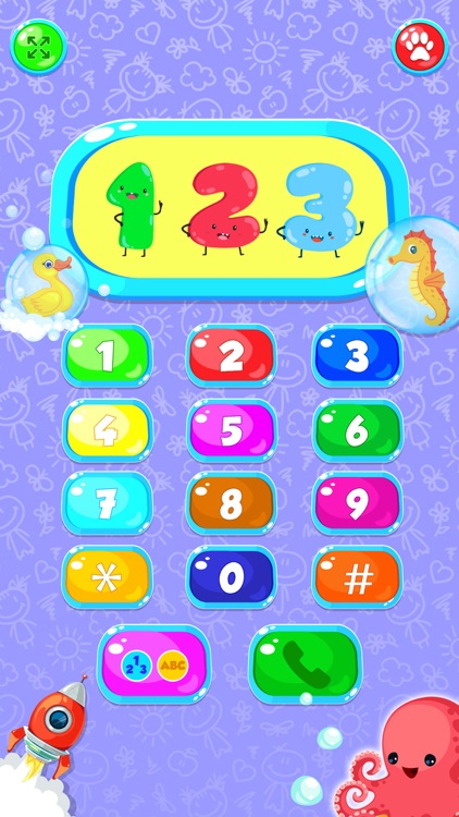 Toy Phone Learning Game screenshot-4