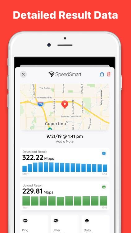 Speed Test SpeedSmart Internet screenshot-4