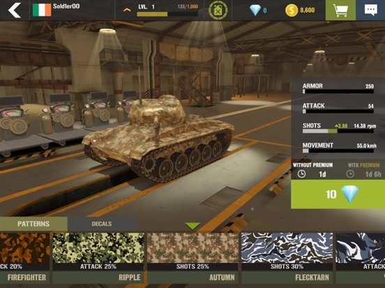 戦争兵器 - 3D戦車ゲーム (War Machines)のおすすめ画像7