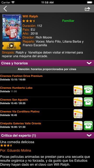 Cineguía Screenshot