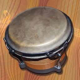 i Play My Cuban Bongo Drums
