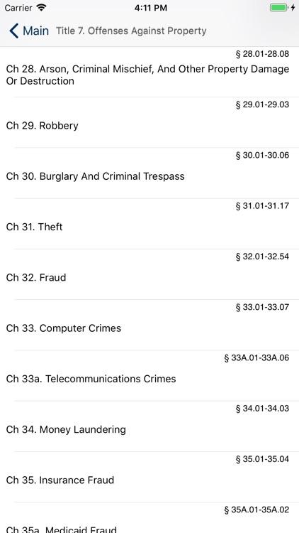 TX Penal Code 2020 - Texas Law screenshot-4