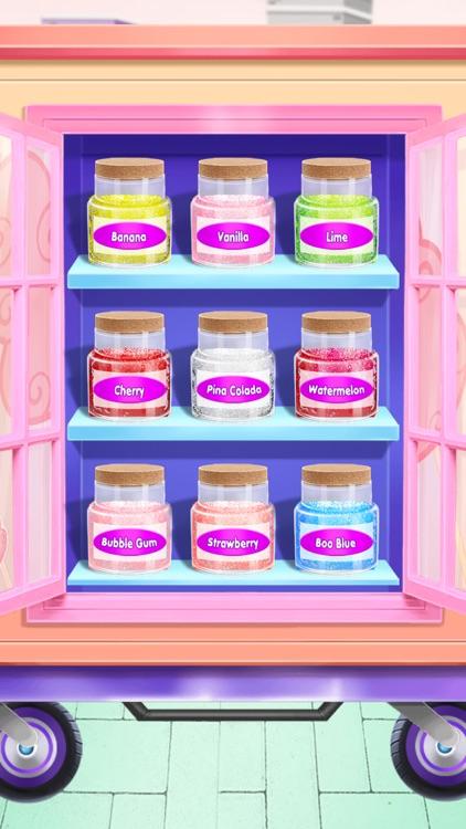 Cotton Candy Maker-Street Food screenshot-3