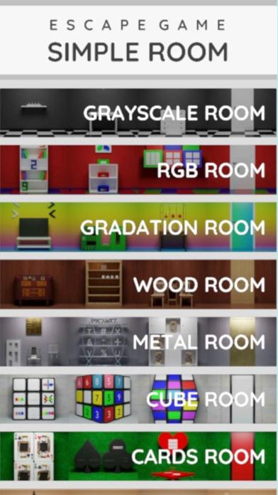 脱出ゲーム シンプルルーム コレクションのおすすめ画像1