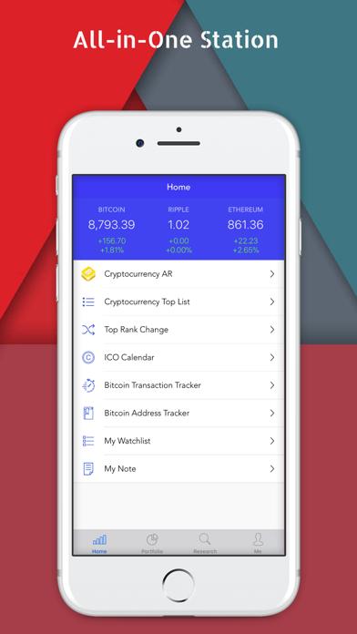 Crypto Top Charts and Ratings Screenshot