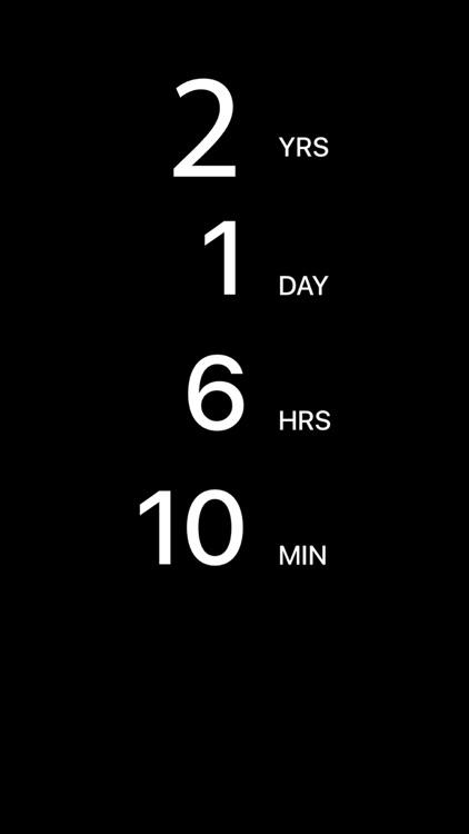 Countdown death app
