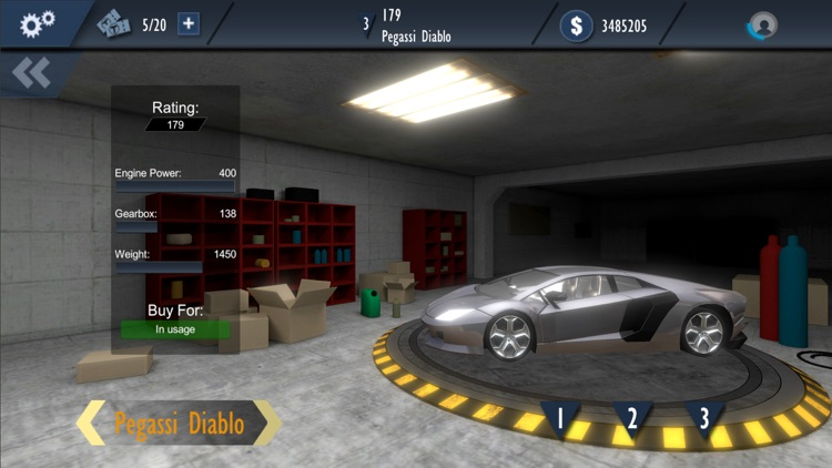 Drag racing game Nitro Rivals screenshot-4