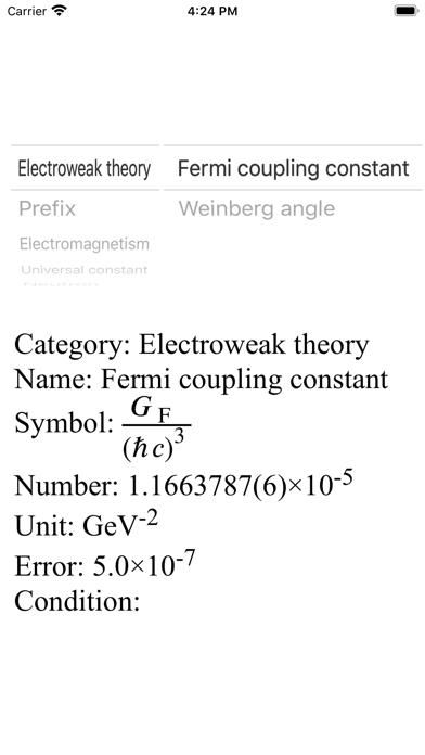 点击获取Physical Constants - ML