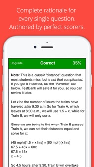 ACT Prep TestBank by Allen iphone images