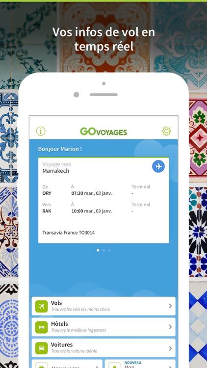 Go Voyages: Vols Pas Chers screenshot-3
