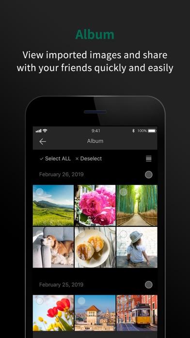 FUJIFILM Camera Remote Screenshot on iOS