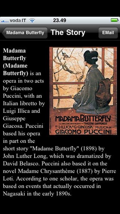 Opera: Madama Butterfly