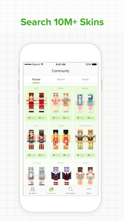 Skinseed for Minecraft Skins by Jason Taylor