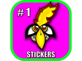 The First Edition Junglebirdy Sticker Pack has arrived