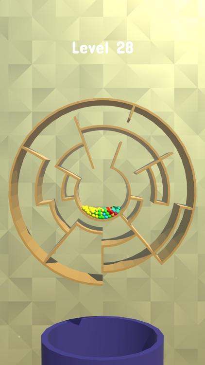 Balls Rotate 3D - Maze Puzzle screenshot-4