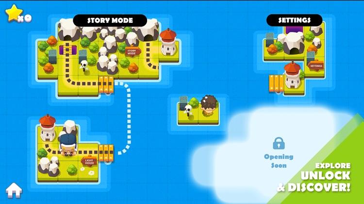BiuBiu Jungle Puzzle screenshot-4