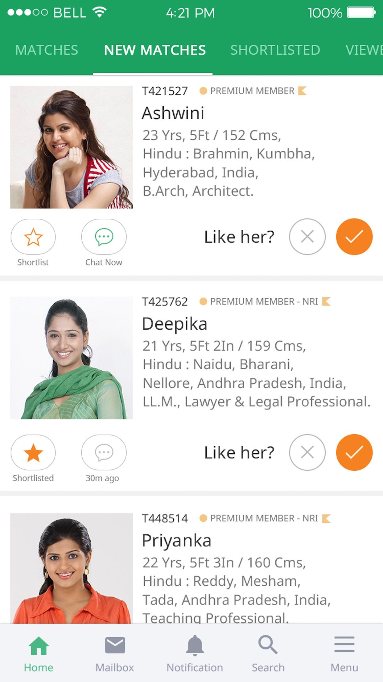 TeluguMatrimony - Matrimonial Screenshot
