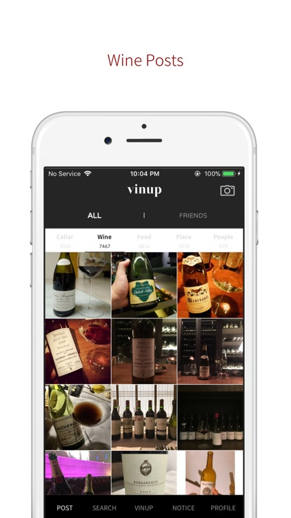 VINUP - Wine SNS