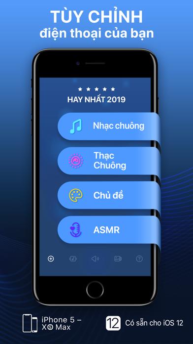 Screenshot for Nhạc chuông và hình nền sống in Viet Nam App Store
