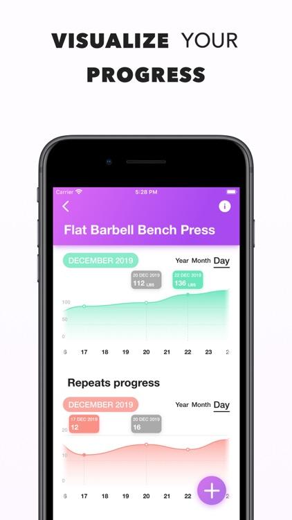 Workout Log   Fitness Tracker screenshot-4