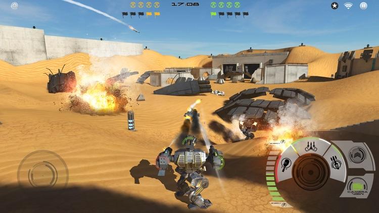 Mech Battle - Robots War Game screenshot-5