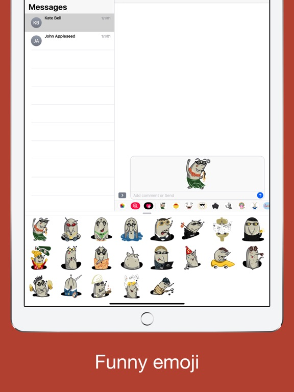 Funny mole emoji - stickers screenshot 8