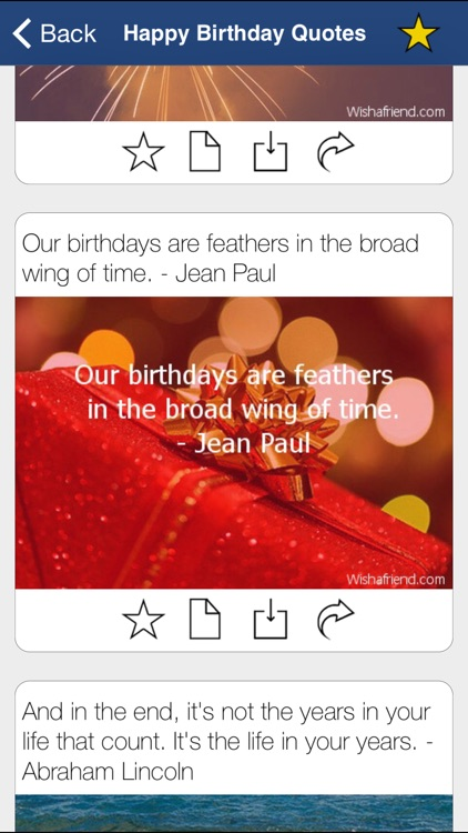Happy Birthday Cards Messages screenshot-3