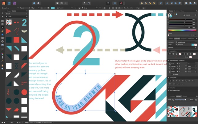 Affinity Publisher Screenshot