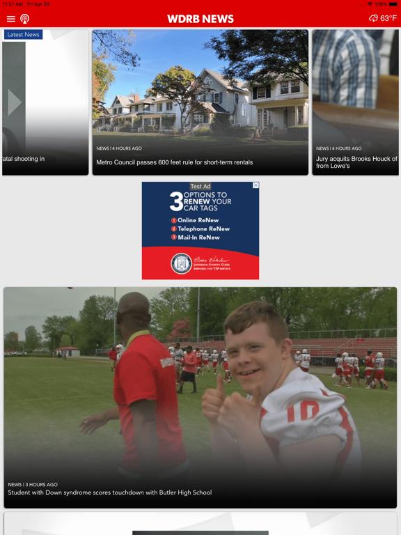 WDRB News iOS Application Version 5 8 - iOSAppsGames