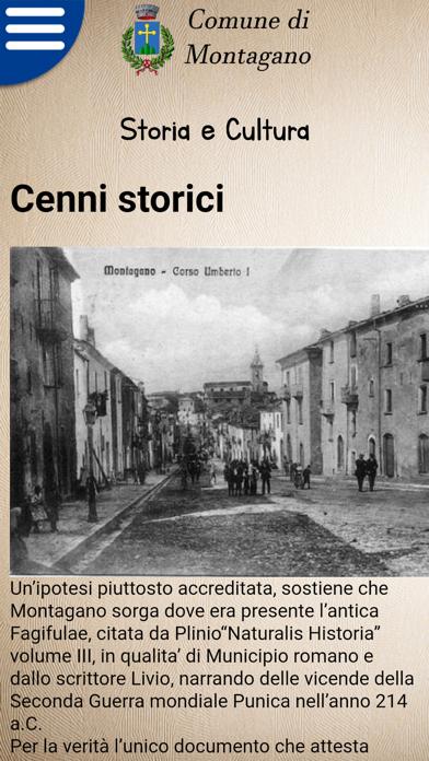 Screenshot of Montagano Comune3