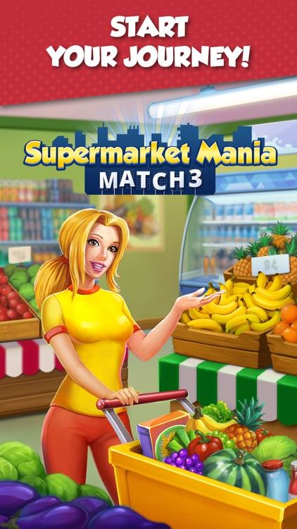 Supermarket Mania - Match 3 screenshot-5