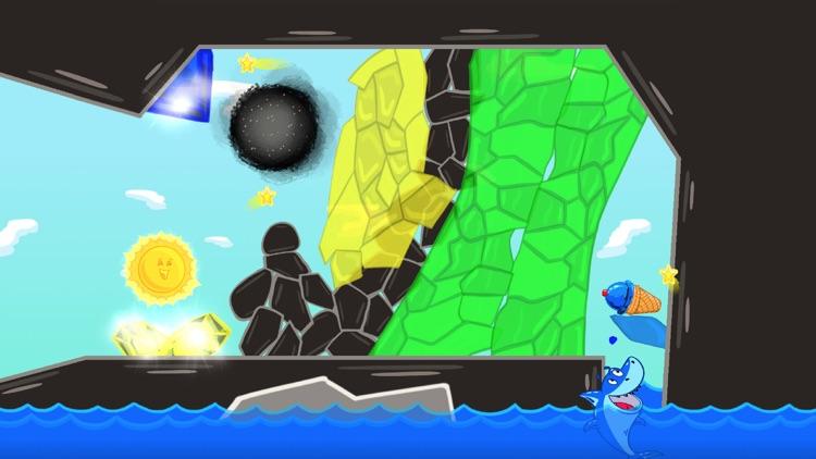 Ice Cream Mixer: Shark Games L screenshot-6