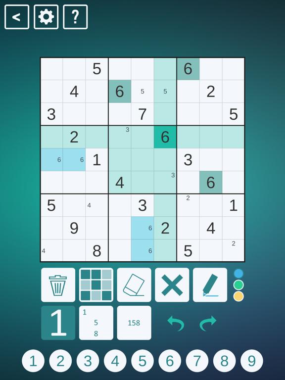 Classic Sudoku! screenshot 1