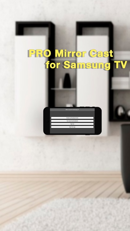 Pro Mirror Cast for Samsung TV