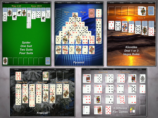 Ipad Screen Shot Solitaire City 2