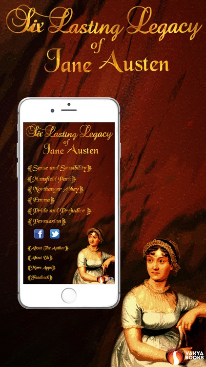Six Lasting Legacy-Jane Austen screenshot-0