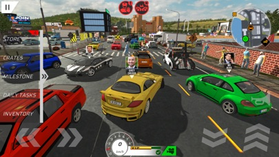 Car Drivers Online: Fun City screenshot 6